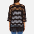 Superdry Women's Willow Crochet Kimono - Black: Image 3