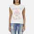 Superdry Women's Savanna Fringe T-Shirt - Winter White: Image 1