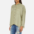 Superdry Women's Tencel Delta Shirt - Salt Wash Khaki: Image 2