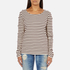 Maison Scotch Women's Long Sleeve Breton T-Shirt - Multi: Image 1