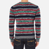 Carven Men's Striped Crew Neck Jumper - Multicolore: Image 3