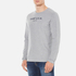 GANT Men's USA Long Sleeve T-Shirt - Grey Melange: Image 2