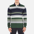 GANT Men's Stripe Heavy Polo Shirt - Pine Green: Image 1