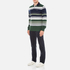 GANT Men's Stripe Heavy Polo Shirt - Pine Green: Image 4