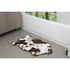 Cowhide Bath Rug - Brown: Image 1