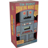 Tin Robot Counting Money Box - Grey/Red