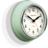 Newgate Cookhouse Wall Clock - Kettle Green: Image 2