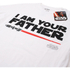 Star Wars Men's Father Lightsaber T-Shirt - White