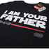 Star Wars Men's Father Lightsaber T-Shirt - Black: Image 2