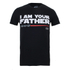Star Wars Men's Father Lightsaber T-Shirt - Black: Image 1