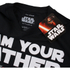 Star Wars Men's Father Lightsaber T-Shirt - Black: Image 3