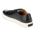 Polo Ralph Lauren Men's Jermain Leather Trainers - Black: Image 4