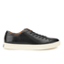 Polo Ralph Lauren Men's Jermain Leather Trainers - Black: Image 1
