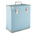 GPO Retro Portable Carry Case for LP Records and 12-Inch Vinyl - Blue