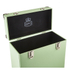 GPO Retro Portable Carry Case for LP Records and 12-Inch Vinyl - Green