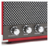 GPO Retro Mini Westwood Bluetooth Speaker - Red: Image 4