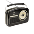 GPO Retro Rydell Portable DAB Radio - Black: Image 2