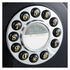 GPO Retro 746 Push Button Wall Telephone - Black: Image 2
