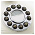 GPO Retro Opal Push Button Telephone - Cream/Chrome