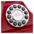 GPO Retro 1929S Classic Carrington Push Button Telephone - Red