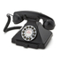 GPO Retro 1929S Classic Carrington Push Button Telephone - Black
