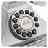 GPO Retro 1929S Classic Carrington Push Button Telephone - Chrome: Image 3