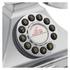 GPO Retro 1929S Classic Carrington Push Button Telephone - Chrome: Image 3