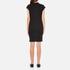 Cheap Monday Women's Capsule Stripe Logo T-Shirt Dress - Black: Image 3