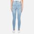 Cheap Monday Women's High Spray Jeans - Stone Bleach: Image 3