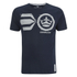 Crosshatch Men's Onsite Graphic T-Shirt - Nightsky: Image 1