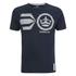Crosshatch Men's Onsite Graphic T-Shirt - Nightsky: Image 1