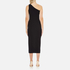 Theory Women's Yuleena Lustrate Midi Dress - Black: Image 3