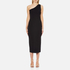 Theory Women's Yuleena Lustrate Midi Dress - Black: Image 1