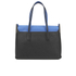 Furla Women's Supernova Large Tote Bag - Black/Blue: Image 6