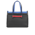 Furla Women's Supernova Large Tote Bag - Black/Blue: Image 1