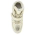Ash Kids' Babe Metal Rock Wedged Hi Top Trainers - Platine: Image 3