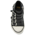 Ash Kids' Fanta Leather Hi Top Trainers - Black: Image 3