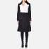 Diane von Furstenberg Women's Kayden Coat - Midnight/Canvas: Image 1