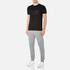 BOSS Green Men's Tee US Tonal Logo T-Shirt - Black: Image 4