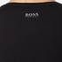 BOSS Green Men's Tee US Tonal Logo T-Shirt - Black: Image 6