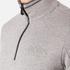 BOSS Green Men's Quarter Zip Sweatshirt - Grey: Image 5