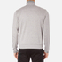 BOSS Green Men's Quarter Zip Sweatshirt - Grey: Image 3