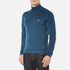 BOSS Green Men's Zime Quarter Zip Jumper - Blue: Image 2