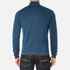 BOSS Green Men's Zime Quarter Zip Jumper - Blue: Image 3