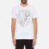 Versace Jeans Men's Chest Print T-Shirt - White: Image 1