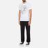 Versace Jeans Men's Chest Print T-Shirt - White: Image 4