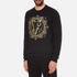 Versace Jeans Men's Light Sweatshirt - Black: Image 2