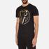 Versace Jeans Men's Foil Print T-Shirt - Black: Image 2