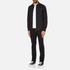 Versace Jeans Men's V Logo Long Sleeve Shirt - Black: Image 4