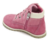 Timberland Toddlers' Pokey Pine Size Zip Lace Up Boots - Pink Nubuck: Image 4